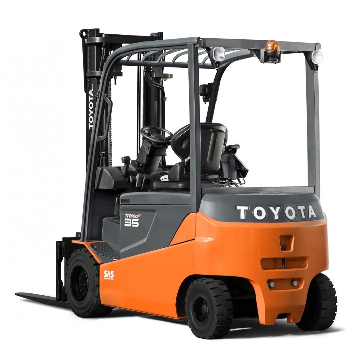 вилочный погрузчик Toyota